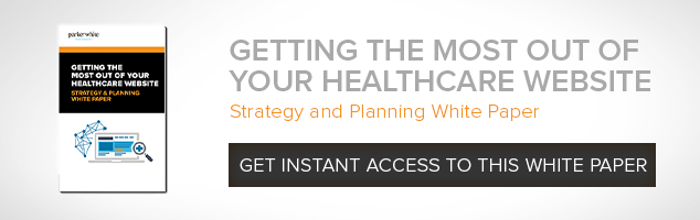 Get the most out of your healthcare website - whitepaper