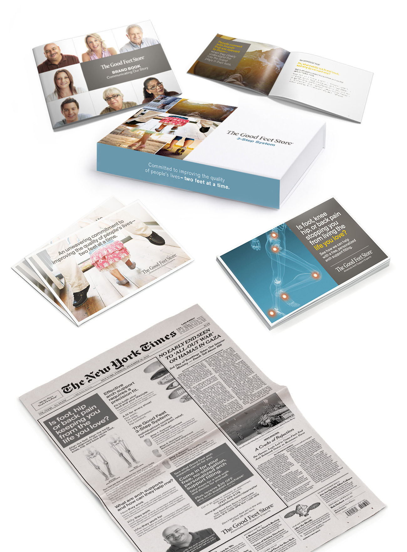 Good Feet Print Collateral