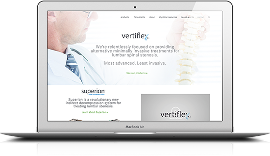 vertiflex website